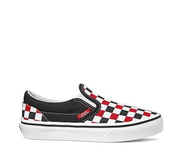 YOUTH CLASSIC SLIP ON CHECKER