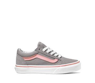 KIDS POP OLD SKOOL FROST GRAY/PINK ICING