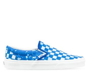 CLASSIC SLIP-ON SOLAR FLORAL TRUE BLUE