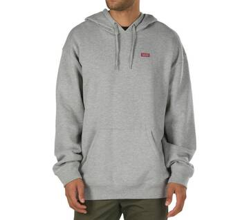 Retro Tall Type Cement Heather Hoodie