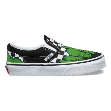 Vans x Marvel Hulk Classic Slip On Kids