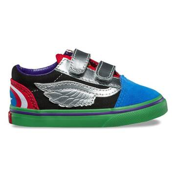 Vans x Marvel Old Skool Velcro Toddler