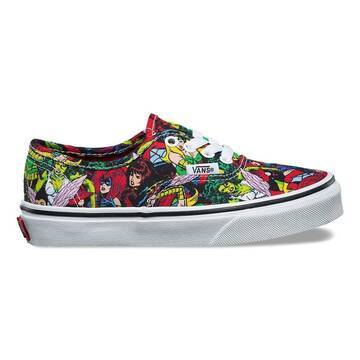 Vans x Marvel Heads Authentic Kids