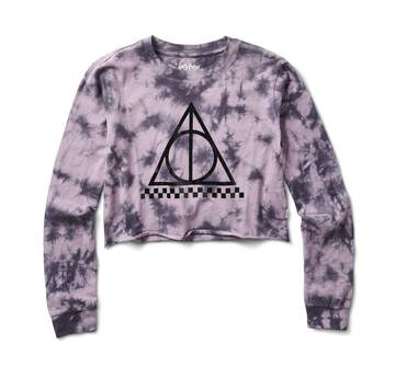 Vans X Harry Potter Deathly Hallows Long Sleeve Crop