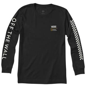 VANS X NATIONAL GEOGRAPHIC GLOBE LONG SLEEVE