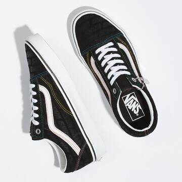 VANS EMBOSS OLD SKOOL BLACK/TRUE WHITE