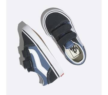 Toddler Old Skool Velcro Navy