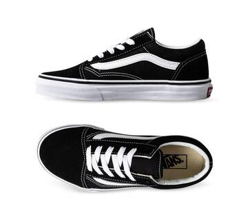 Kids Old Skool Black/True White