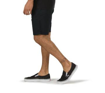 "Authentic 20"" Black Stretch Short"