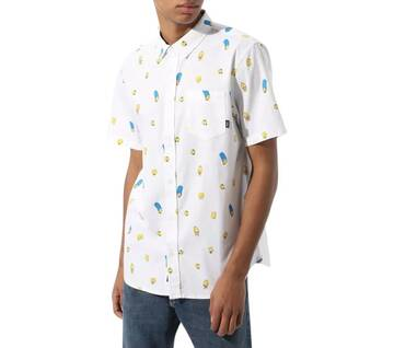 The simpsons x Vans Houser Buttondown Shirt
