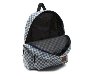 Deana Indigo Check Backpack