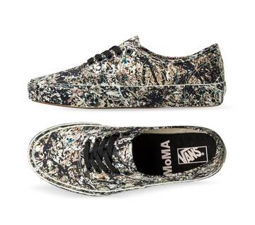 VANS MoMA AUTHENTIC JACKSON POLLOCK