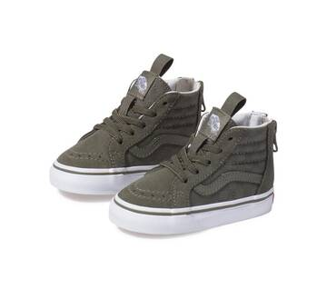 Toddler Sk8-Hi Zip Checkerboard