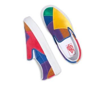 Pride Classic Slip-On Patchwork