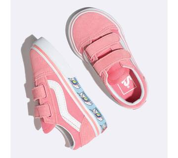 Toddler Old Skool Velcro Unicorn