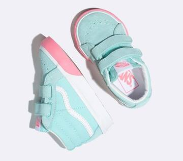 Toddler Sk8-Mid Velcr Reissue Colour Block