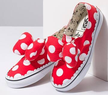 Disney X Vans Kids Minnie's Bow Authentic