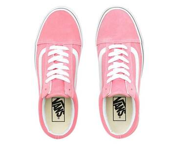Old Skool Strawberry Pink/True White