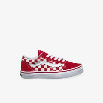 YOUTH OLD SKOOL PRIMARY CHECK RED