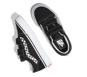 Kids Old Skool Sidestripe Velcro