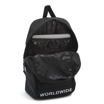 SNAG BACKPACK BLACK DISTORTION