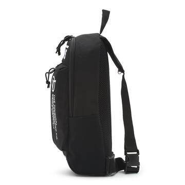 WARP SLING BAG BLACK DISTORTION