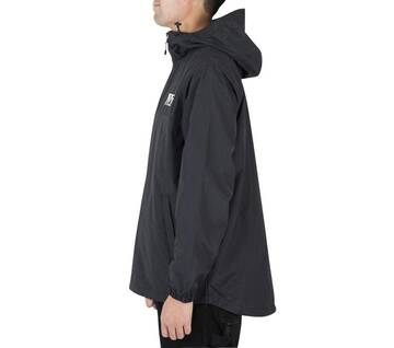 Triple Circle Black Anorak