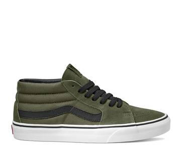 SK8-MID GRAPE LEAF WHTE