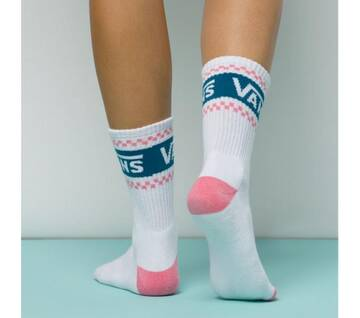 Girl Gang Strawberry Pink Crew Socks
