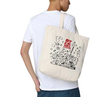 OTW ART COLLECTION OHAMKING TOTE BAG