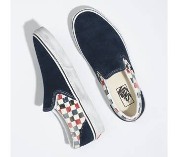 WASHED CLASSIC SLIP-ON SHOES